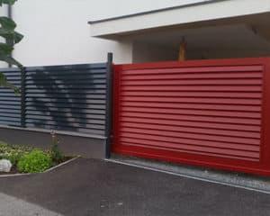 Hliníkový plot 02