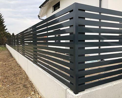 Hliníkový plot 05