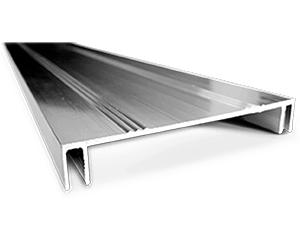 speciální hliníkové profily pro světelné panely